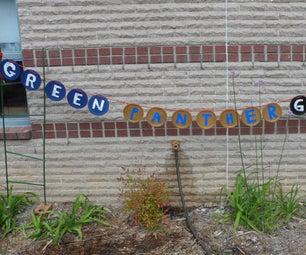 Earth Day Garden Sign