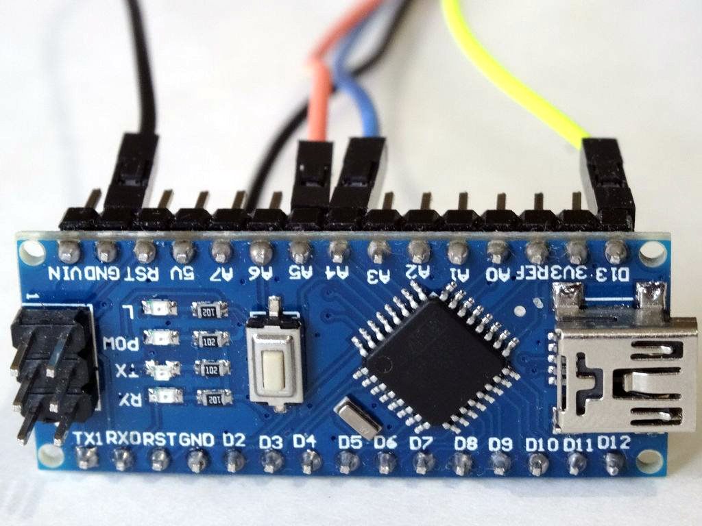 Picture of Connect the LED Module to the Arduino