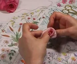 How to make a Folded Ribbon Rose