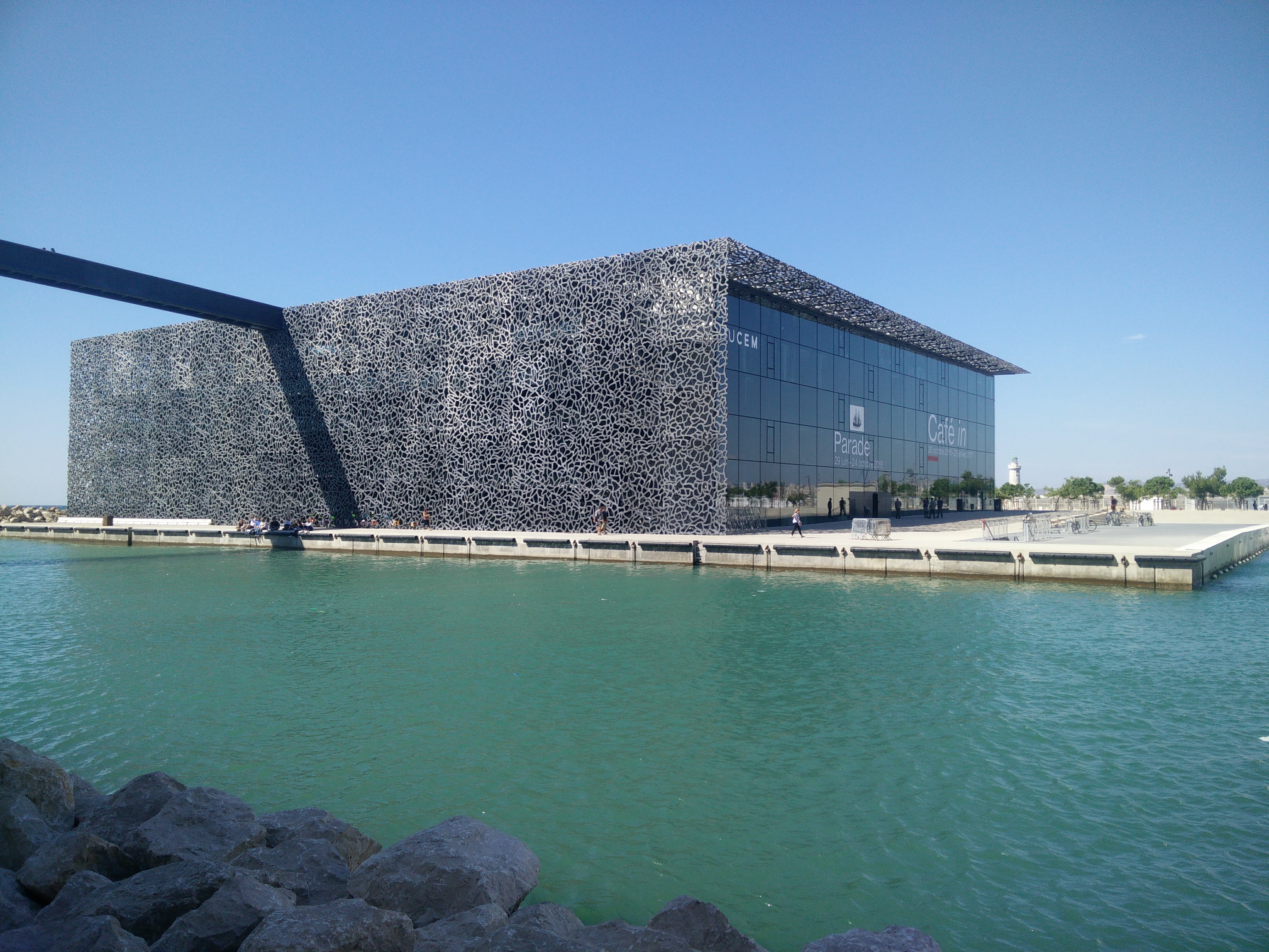 Picture of Mucem Inspired Monitor Stand