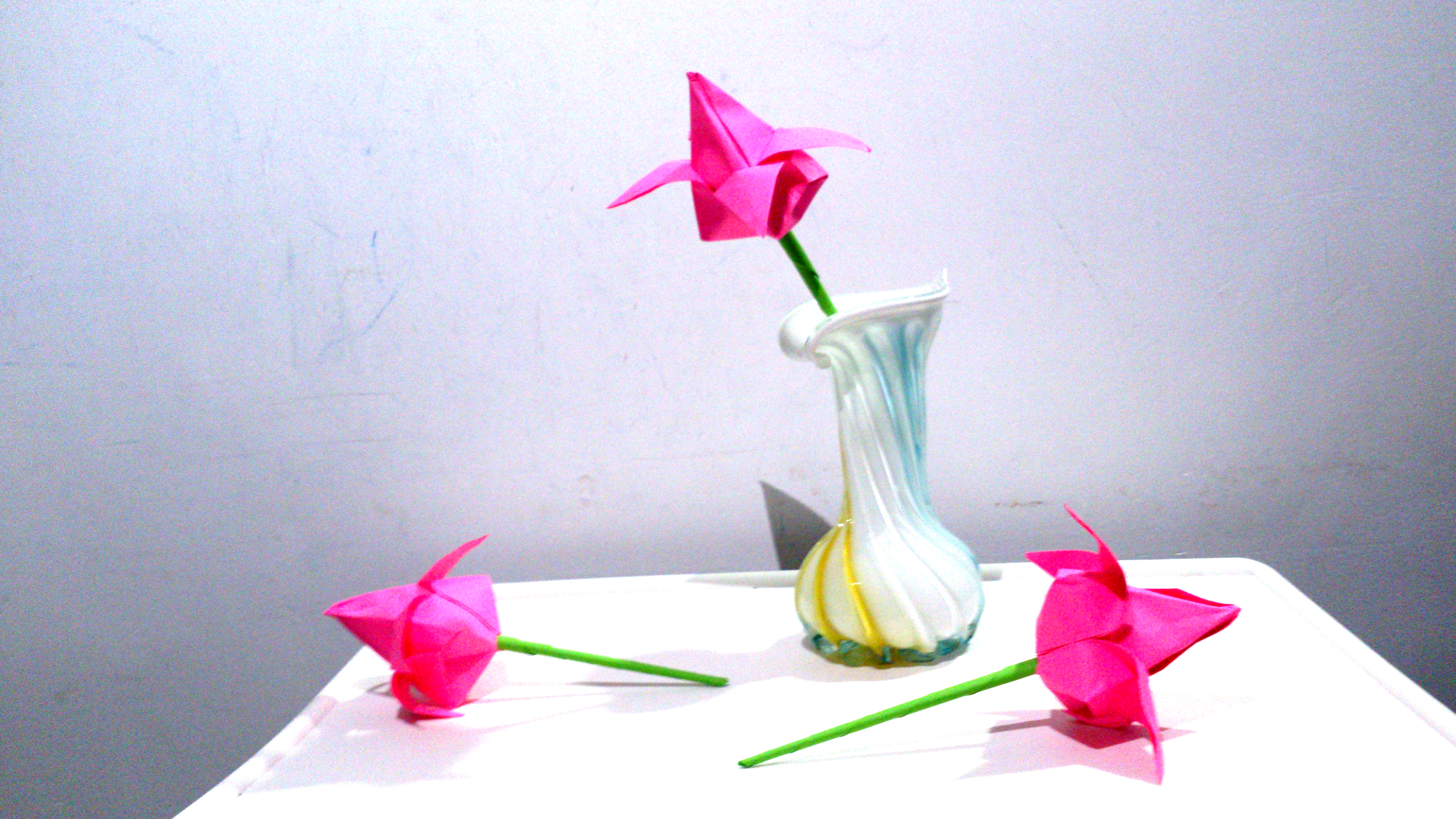 Picture of Add the Flowers to a Vase
