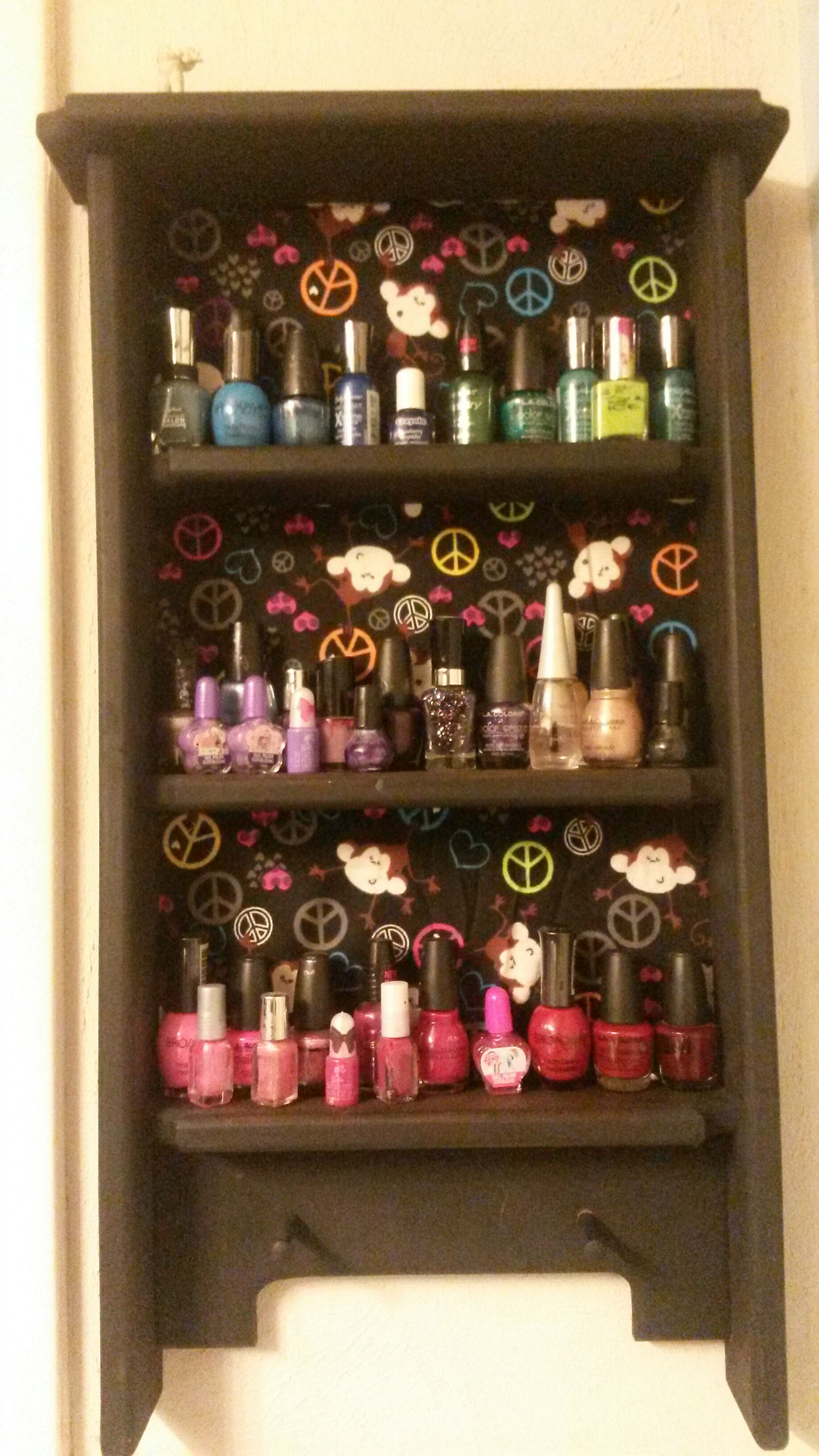 Picture of Organizing Nail Polish