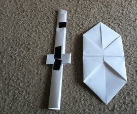 Paper Sword And Shield
