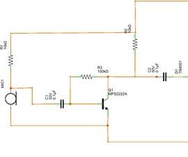 ARDUINO One Transistor Sound Detector