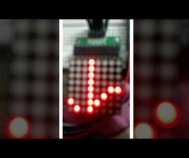 ROLLING DISPLAY USING LED MATRIX