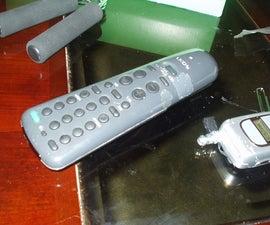 DIY Cheap IR Reflector for a Remote Control