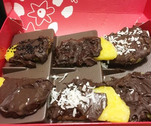 Copycat Chocolate Covered Pineapple