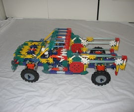 Knex Suspension Pickup Truck **Suspension Upgrade/Mod #1**