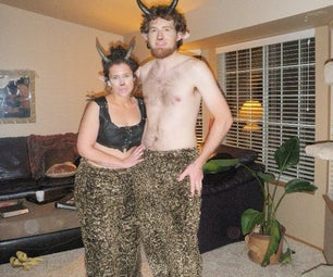Faun / Satyr Costumes for Two