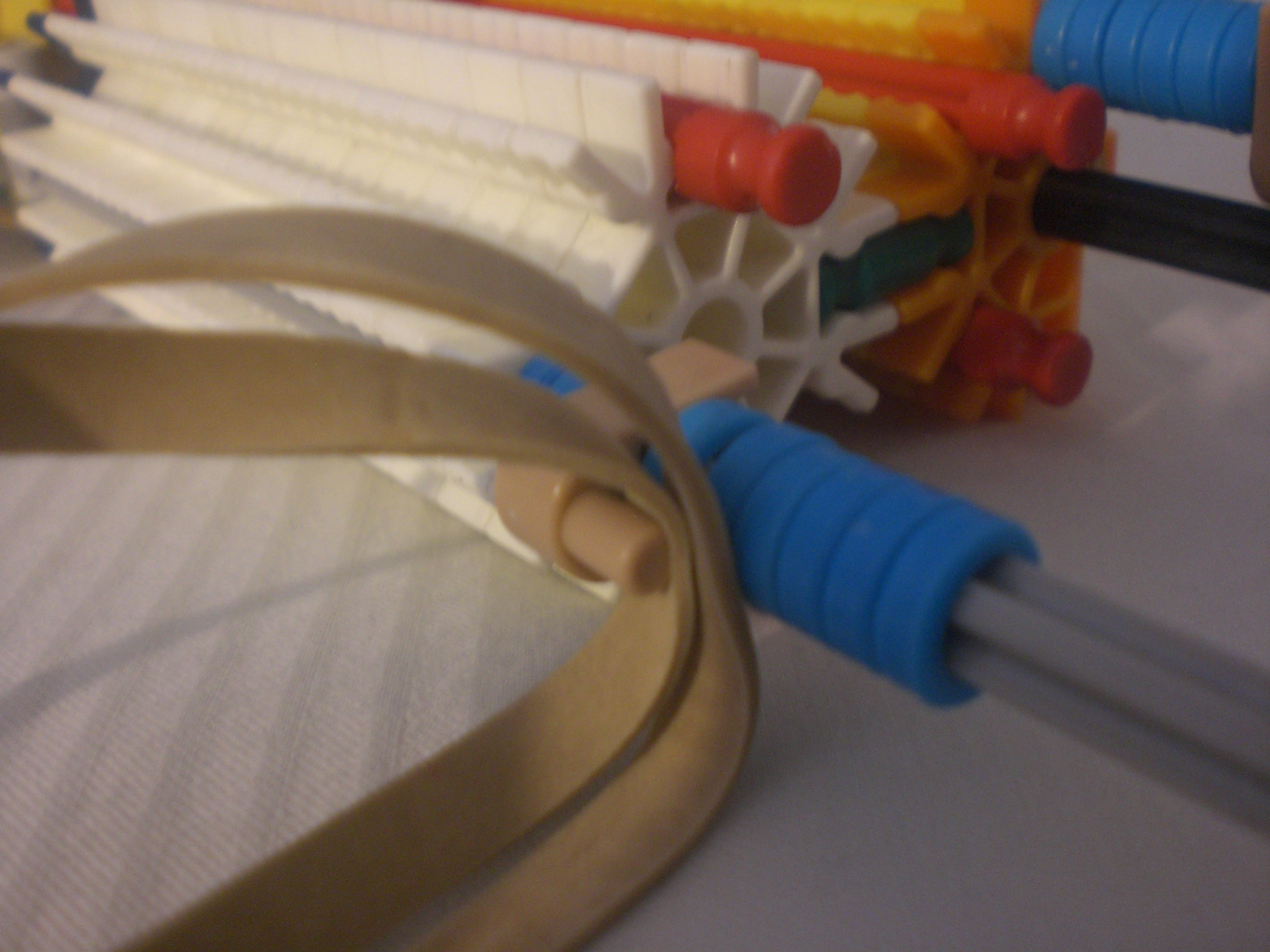 Picture of Rubberband Placement