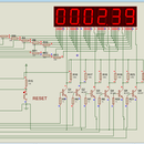 Stopwatch Using Pic18f4520 in Proteus With 7 Segment