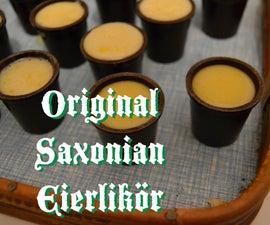 Original Saxonian Eierlikör (obnoxiously Delicious East-german Eggnog)