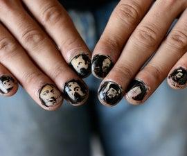 [Thumb]nail portraits - (laser etch your fingernails)