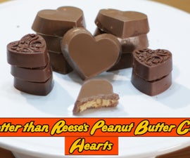 Better Then Reese's Peanut Butter Cups - Hearts