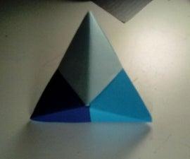 Modular Origami Triangular Bipyramid