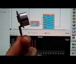 Arduino Nano: Ultrasonic Ranger(Ping) with Visuino