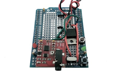 [Muscle Sensor Shield] Connect the 5V Regulator Output Pin to GND Strip