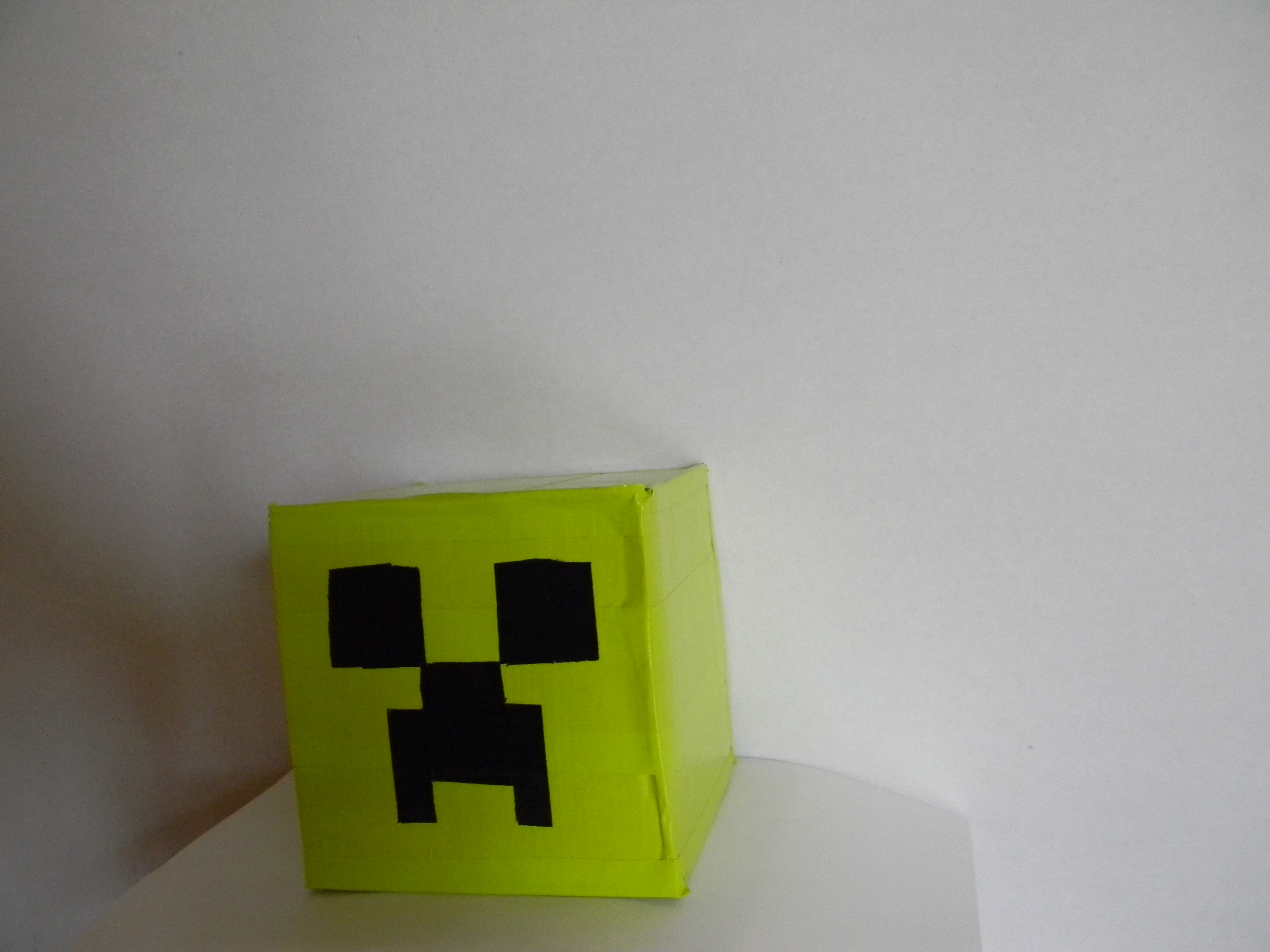 Picture of Mini Duct Tape Minecraft Heads