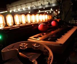 Antique Light Bulb Organ - MIDI/OSC Controlled