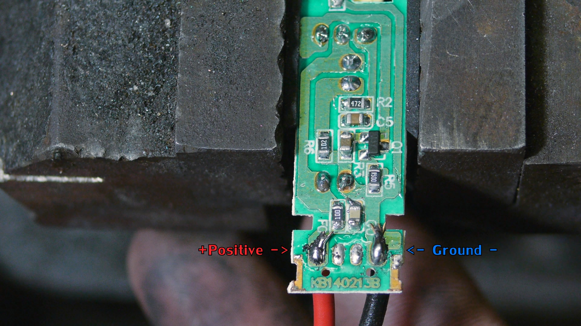 Picture of Adding Input & Output Wires