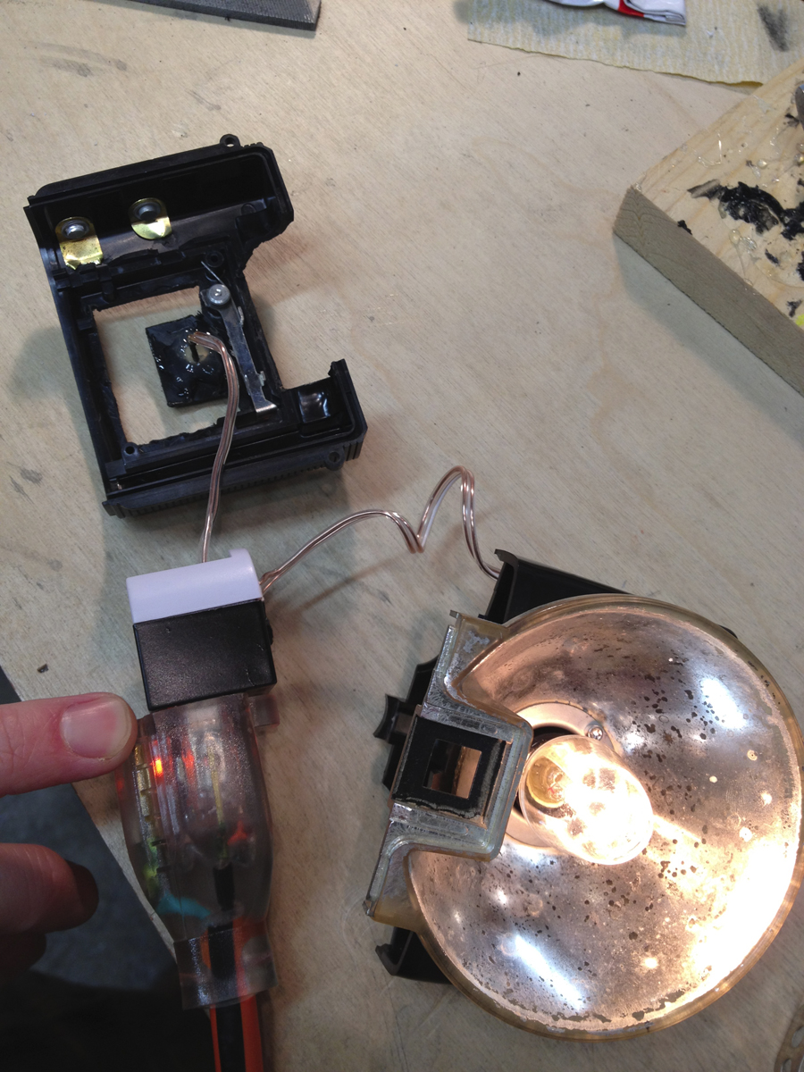 Picture of Assembling the Nightlight in the Camera