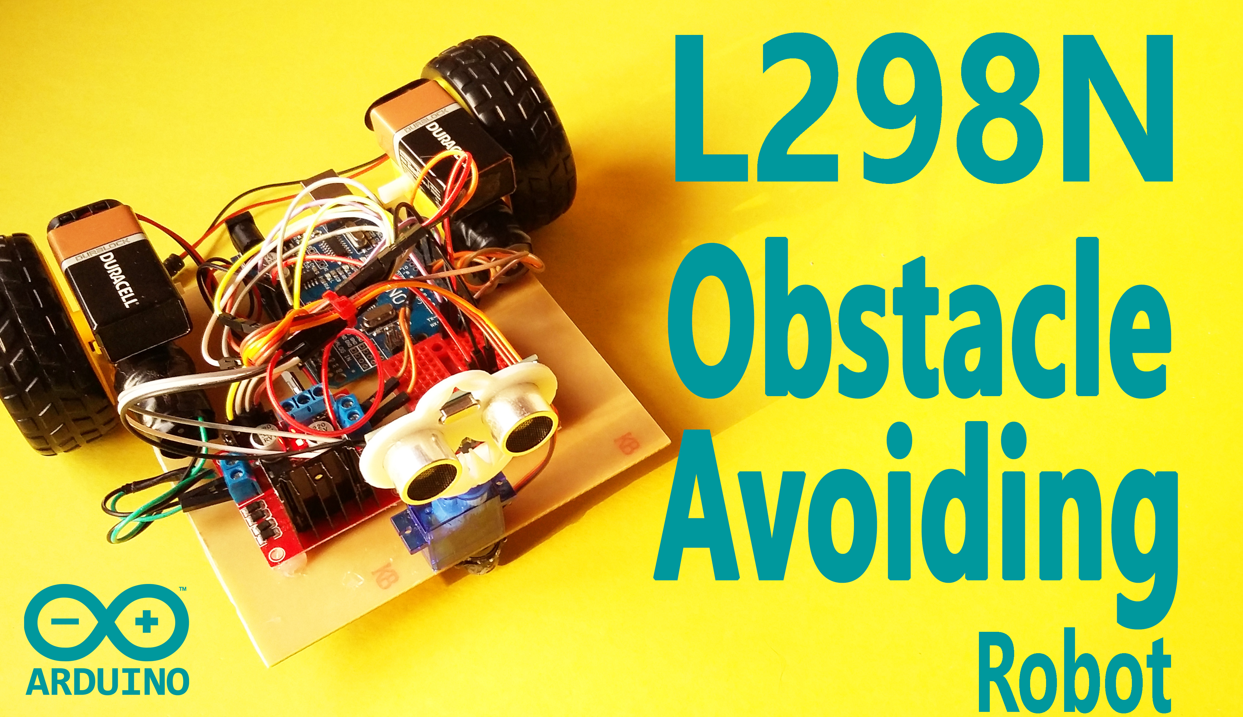 Picture of Arduino - Obstacle Avoiding Robot Using L298N