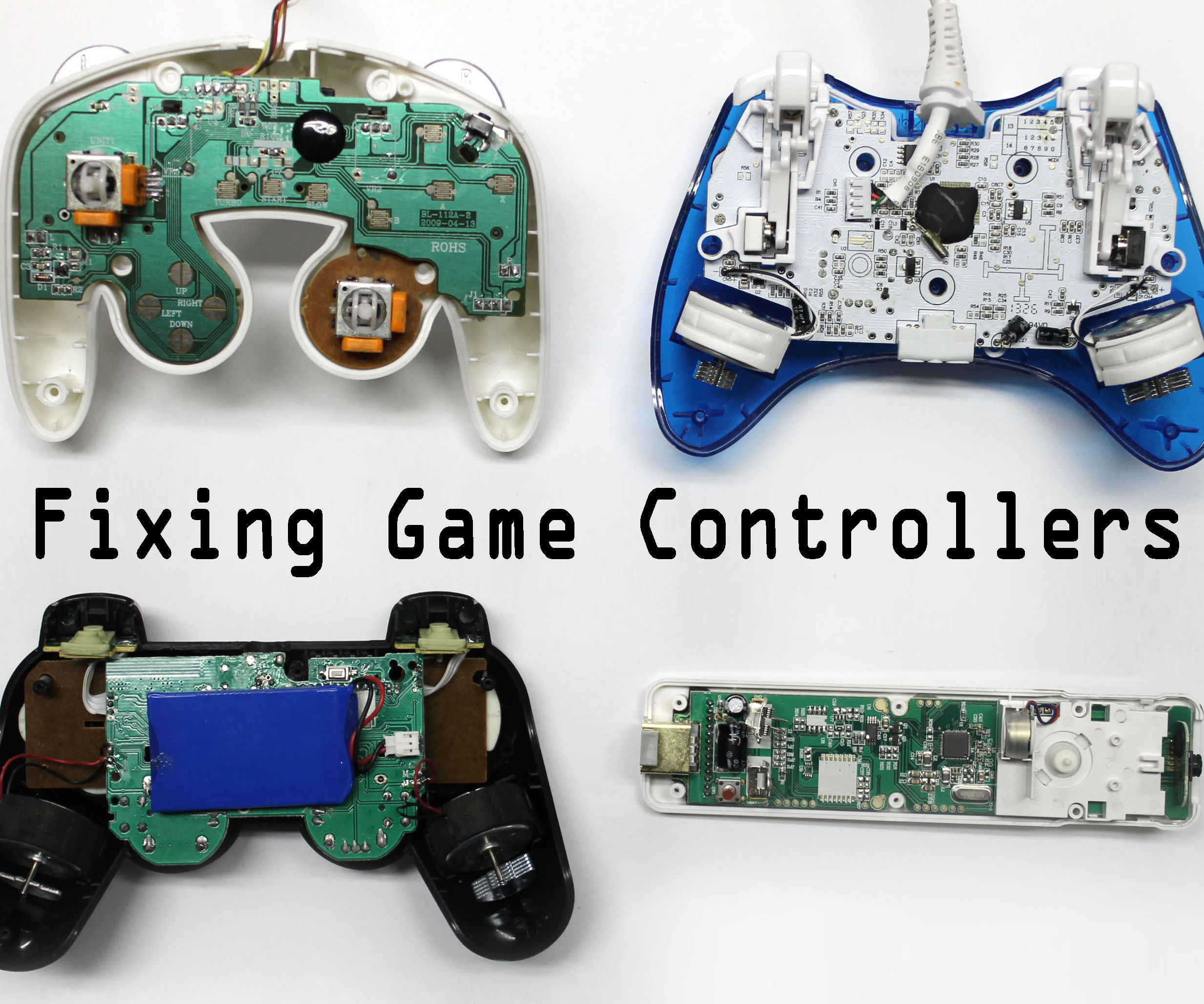 fix any video game controller 9 steps (with pictures)Gamecube Controller Wiring Diagram Right Stick #13