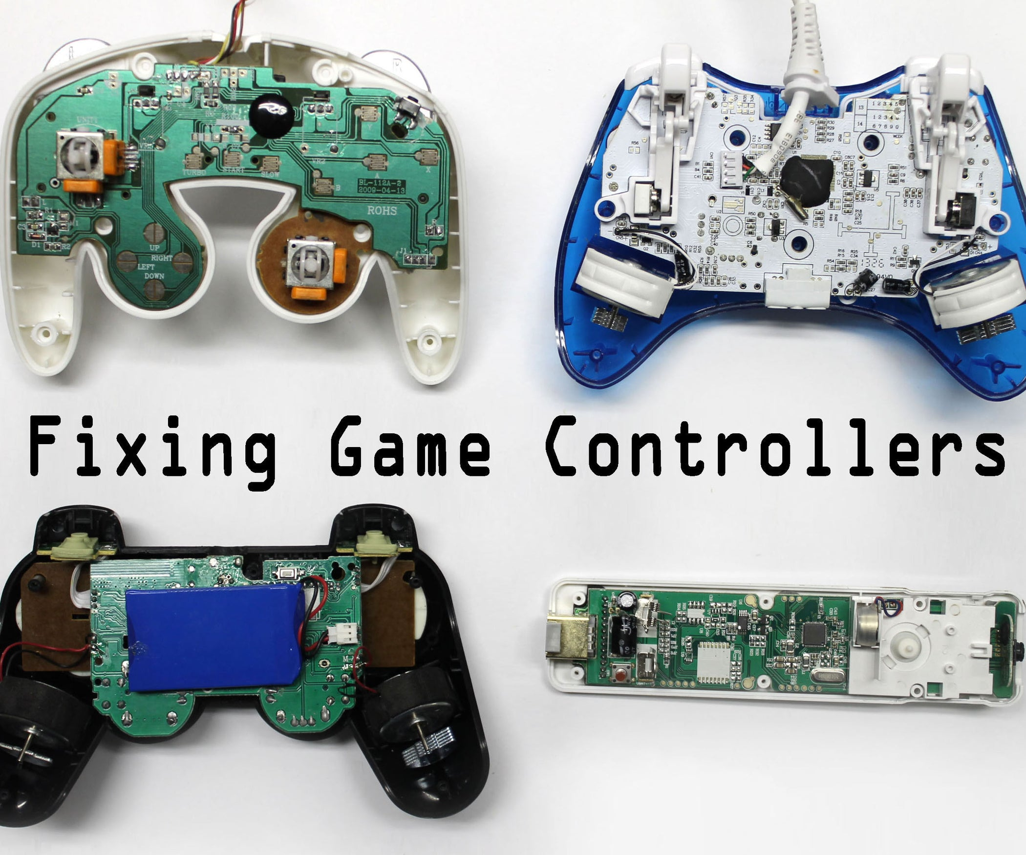 Ps3 To Xbox 360 Controller Wiring Diagram Library Motherboard Schematic Moreover S Fix Any Video Game 9 Steps With Pictures