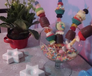 Cupcake Kebabs :)