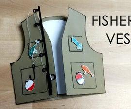 Fisherman Vest Card