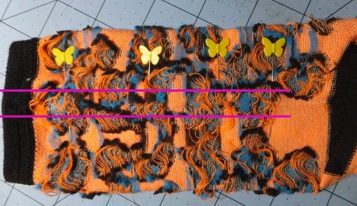 Cut & Stitch the Body & Legs