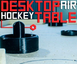 Desktop Air Hockey Table