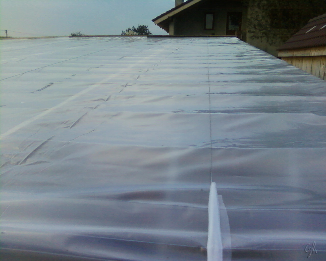 Picture of Mounting Polyethylene Film