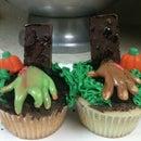 Gravestone Cupcakes