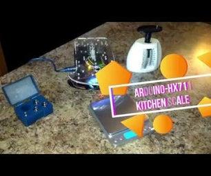 Arduino Uno - HX711 Digital Weight Scale