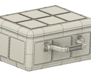 Modular 3D Printed Hardbox