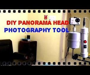 DIY Motorized Panorama Head Photography Tool