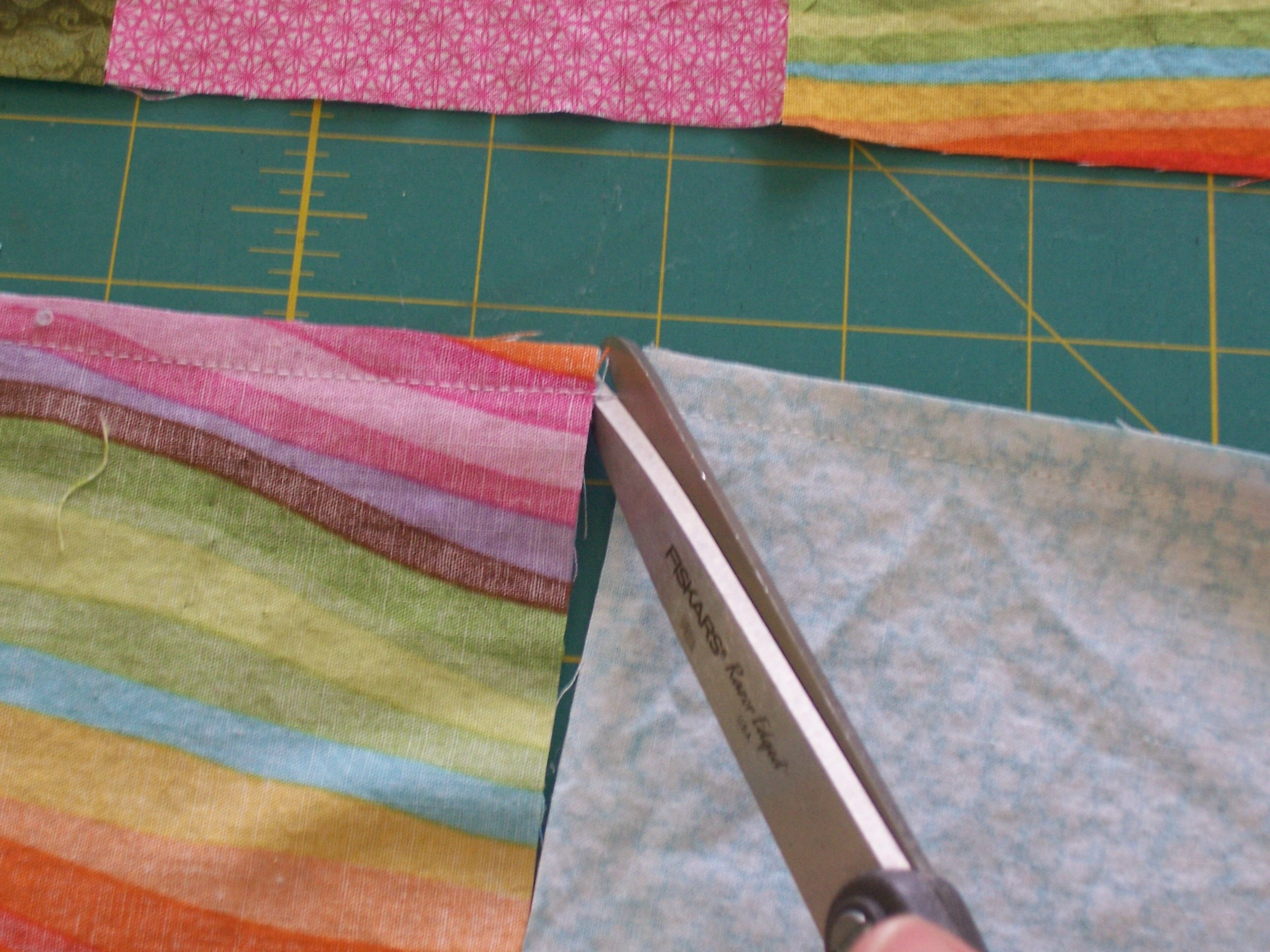 Picture of Chain Stitching and Adding to Your Rows