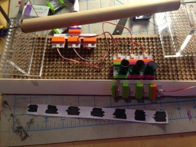 Make the Roller Setup for the Drum and Music Sequencer