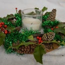 Christmas Wreath for Candle