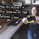How to Crochet a Mini Version of the Batman Logo