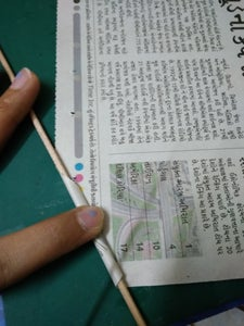 MAKING PAPER STRAWS