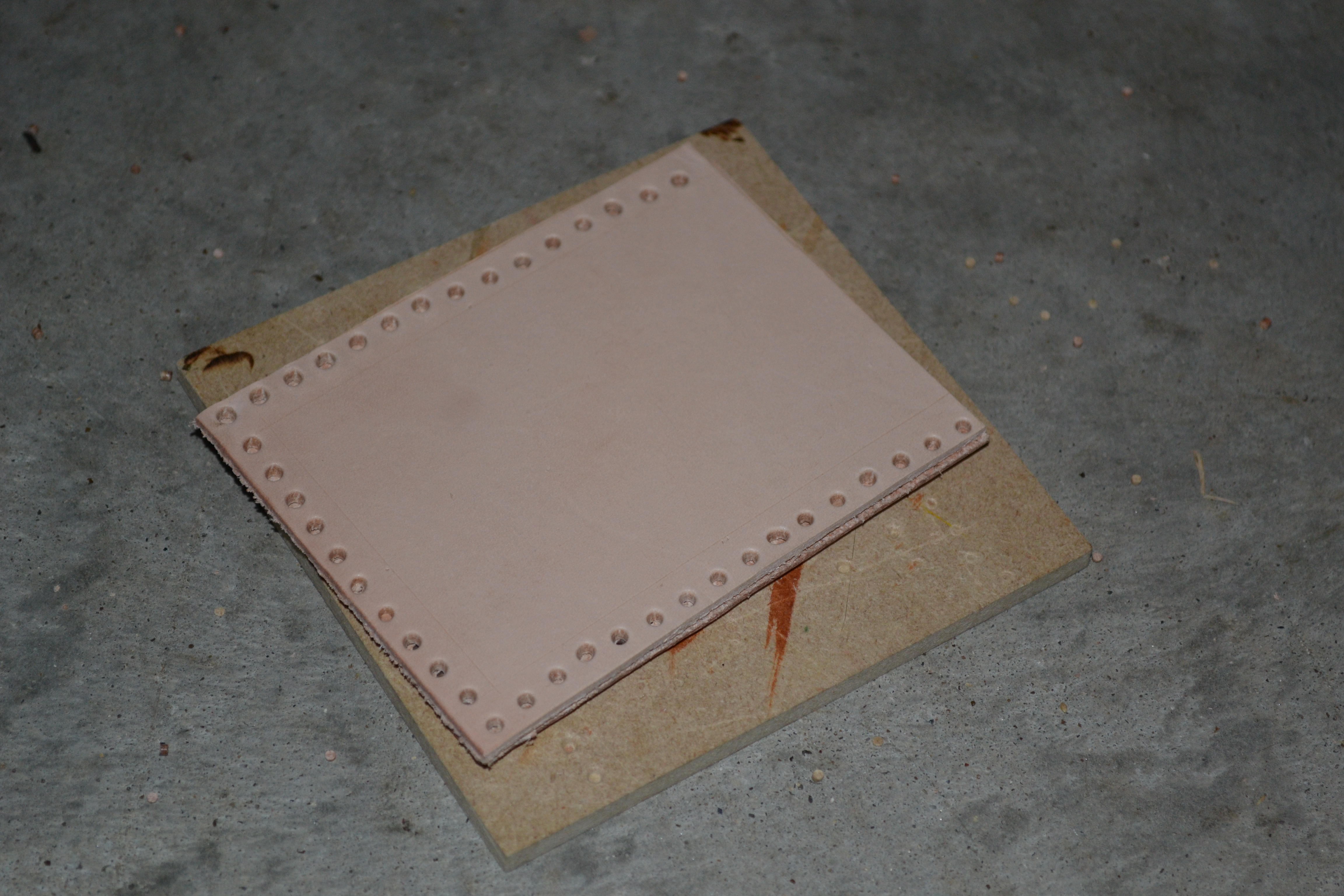 Picture of Punching for Sewing