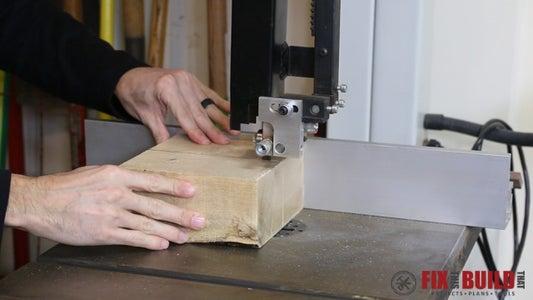 Peparing the Turning Blank