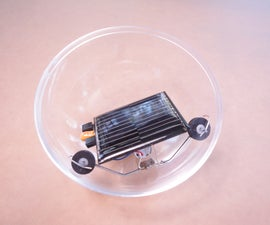 Solar Powered Miniball Wannabe
