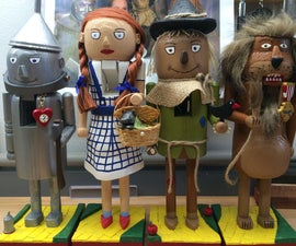 Wizard of Oz Nutcrackers