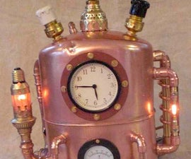 Steampunked Time Traveling Machine