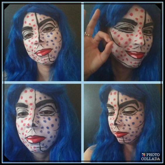 Picture of Pop Art Girl Face Paint