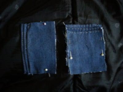 Hemming the Card Pockets