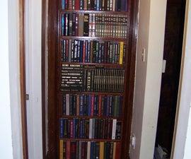 BOOKCASE DOOR THAT REPLACES YOUR DOOR.